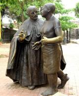 Claver dedicó su servicio a la evangelización de los esclavizados.
